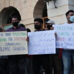Manifestación en apoyo a Palestina en Gandia