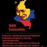 Gandia con Colombia